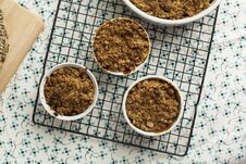 Free Individual Apple Crumble Royalty Free Stock Images - 36448669