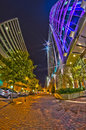 Free December 27, 2014, Charlotte, Nc, Usa - Charlotte Skyline Near R Stock Photography - 36458602