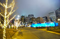 Free December 27, 2014, Charlotte, Nc, Usa - Charlotte Skyline Near R Stock Photography - 36459152