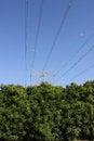 Free Eco Friendly Electric Pylon Stock Images - 36459264