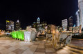 Free December 27, 2014, Charlotte, Nc, Usa - Charlotte Skyline Near R Stock Image - 36459301