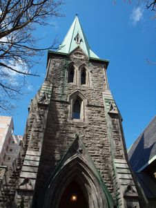 Free Church In Montreal Stock Photos - 36450013