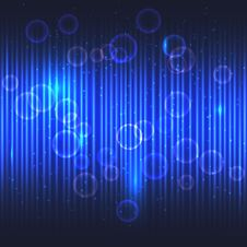 Free Abstract Glowing Blue Vector Background. Royalty Free Stock Photo - 36455455