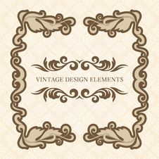 Free Design Elements Set 3 Royalty Free Stock Photography - 36458027