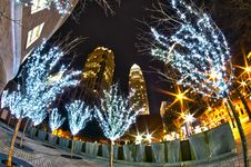 Free 1st January, 2014, Charlotte, Nc, Usa - Nightlife Around Charlot Stock Photos - 36458913