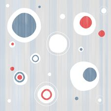 Abstract Retro Circle Textile Background Stock Photos