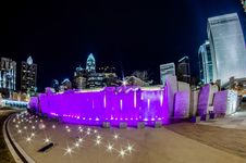 Free December 27, 2014, Charlotte, Nc, Usa - Charlotte Skyline Near R Stock Photos - 36459293