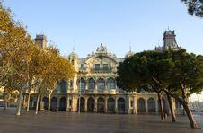 Free Barcelona. Port. Stock Image - 36459591
