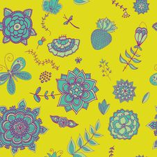 Free Floral Pattern Stock Images - 36459684