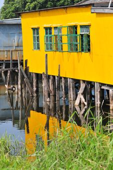 Free Floating House Stock Photo - 36459750