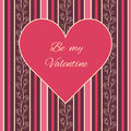 Free Valentines Day Card Royalty Free Stock Photography - 36462217