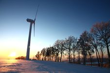 Free Wind Power Royalty Free Stock Photos - 36463148
