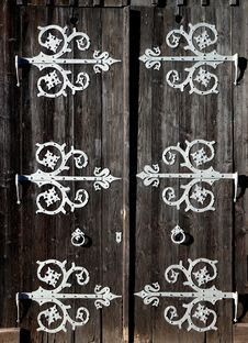 Free Bavarian Door Royalty Free Stock Photos - 36463338