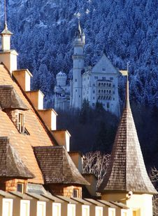 Free Neuschwanstein Castle Stock Photography - 36463472
