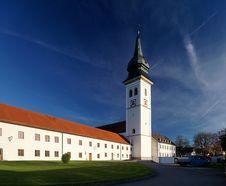 Free Bavarian Monastery Stock Image - 36463481