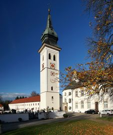 Free Bavarian Monastery Stock Photography - 36463492