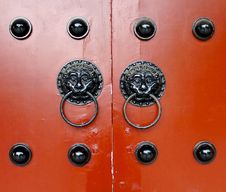 Traditional Door Knockers Stock Images