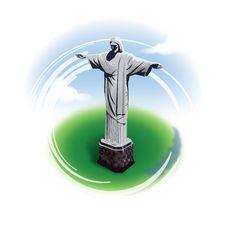 Free Christ Statue Rio De Janeiro Brazil Royalty Free Stock Image - 36469826