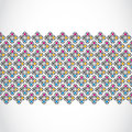 Free Vintage Seamless Pattern Banner Royalty Free Stock Photography - 36479037