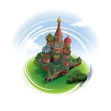 Free Saint Basil S Cathedral Royalty Free Stock Photos - 36470468