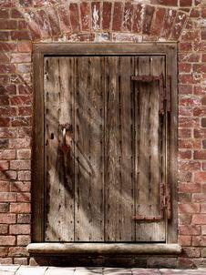 Free Wooden Door Stock Photos - 36472803