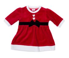 Free Red Santa Baby Dress Royalty Free Stock Photo - 36475575