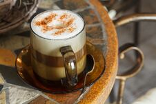 Free Cappuccino Stock Photo - 36477650