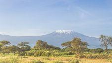 Free Kilimanjaro In Kenya Royalty Free Stock Image - 36483146