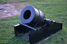 Free Old Cannon At Fort Zahariy In Key West Stock Photos - 36484493