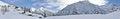 Free Alps Winter Panorama 2 Royalty Free Stock Photo - 36491145