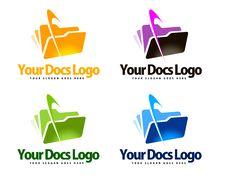 Free Documents Logo Stock Image - 36491691