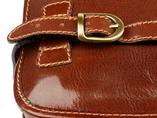 Details Of Traveling Bag Royalty Free Stock Images