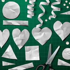 Design Elements For Valentine S Day Party Stock Image
