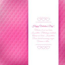 Free Happy Valentine S Day Background Stock Photos - 36494733