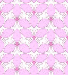 Free Floral Seamless Pattern Stock Photos - 36494753