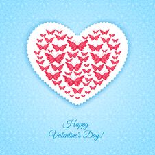 Free Happy Valentine S Day Card Royalty Free Stock Image - 36494756