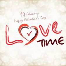 Love Time Stock Photo