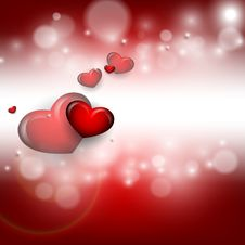 Free Valentine S Day Vector Background Royalty Free Stock Image - 36497056