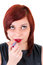 Free Teenage Girl Applying Lipstick Royalty Free Stock Photos - 36490638