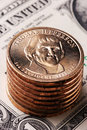 Free American Dollar Coin Stock Photo - 3651300