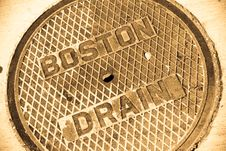 Manhole Cover Stock Images