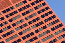 Free Red Skyscraper Royalty Free Stock Images - 3650729