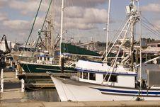 Free Fishing Boats At Marina Stock Photography - 3650782