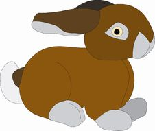 Free Bunny Illustration Stock Photo - 3650830