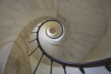 Free Old Spiral Staircase Royalty Free Stock Photos - 3653138