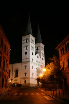 Free Church By Night Stock Images - 3653174