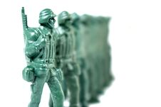 Free Toy Soldier Stock Image - 3654991