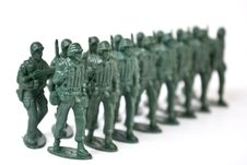 Free Toy Soldier Royalty Free Stock Photography - 3655017