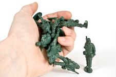 Free Toy Soldier Stock Image - 3655181