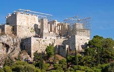 Free Acropolis Hill Stock Image - 3655231